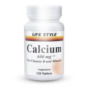 مکمل کلسیم و ویتامین دی لایف استایل