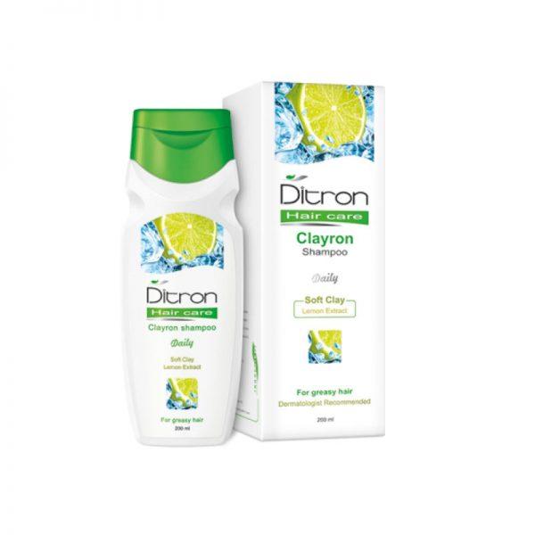 شامپو موي چرب (کلايرون) دیترون | Ditron Shampoo For Greasy Hair (Clayron)