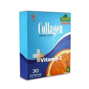 کلاژن همراه با ویتامین C آلفا ویتامینز