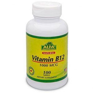 ویتامین ب 12 1000mcg آلفا ویتامینز