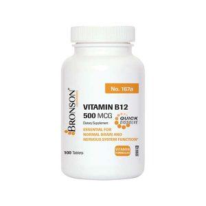قرص ویتامین ب12 500 برونسون