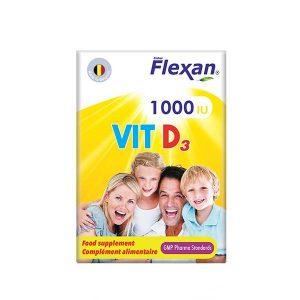 کپسول ویتامین 1000 D3 فیشر فلکسان