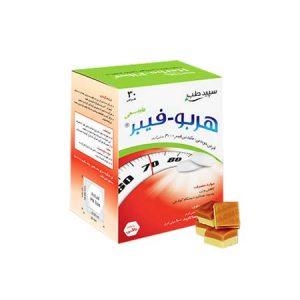 قرص جویدنی هربو فیبر سپید طب