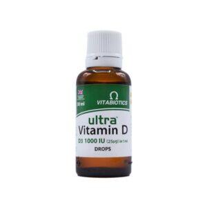 قطره خوراکی اولترا ویتامین 1000D3 ویتابیوتیکس