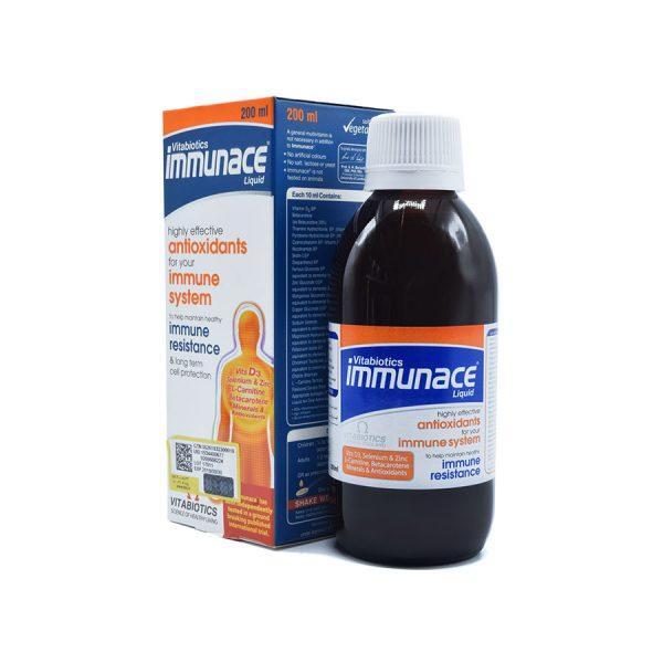 شربت ایمیونس ویتابیوتیکس (شربت immunace)
