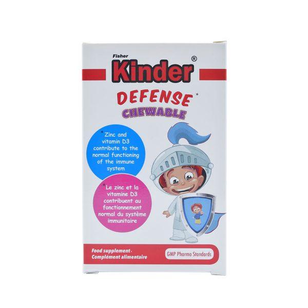 قرص جویدنی دیفنس فیشر کیندر ۶۰ عددی | Fisher Kinder Defense Chewable 60 Tabs