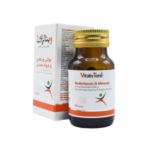 کپسول مولتی ویتامین و مینرال ویتالی تون 30 عددی