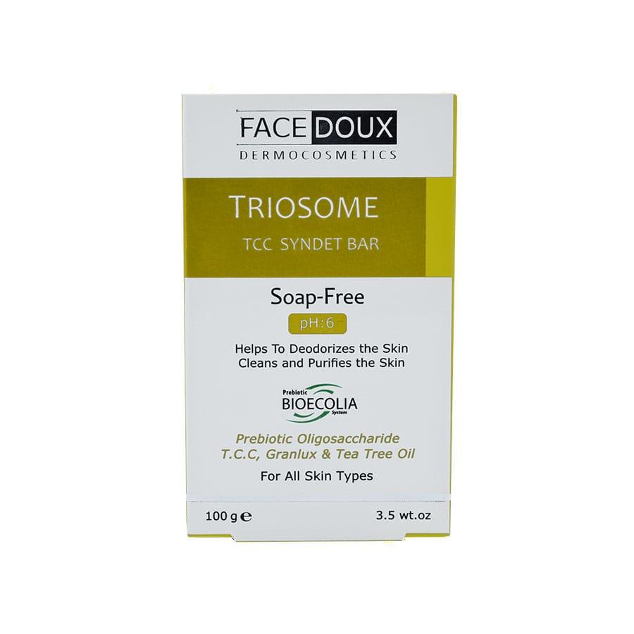 پن شوینده تریوزوم آنتیباکتریال فیس دوکس برای انواع پوست 100گرم