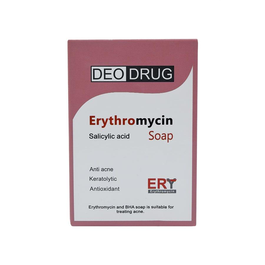 صابون اریترومایسین دئودراگ 90 گرم