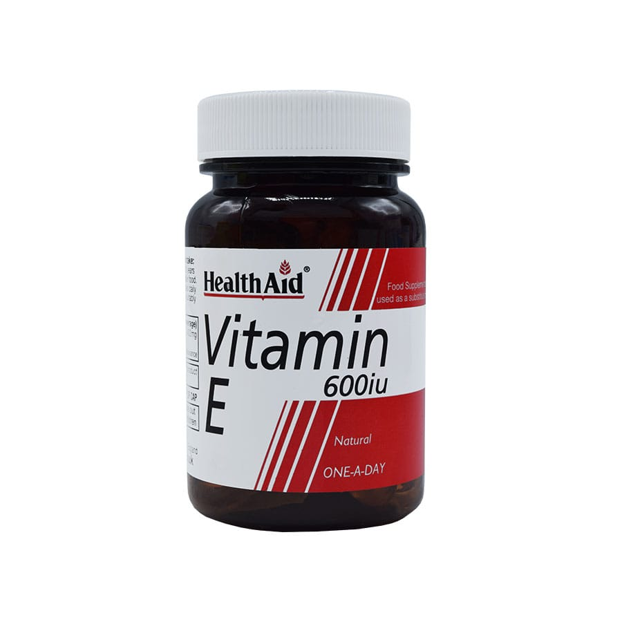کپسول ویتامین ای 600 آی یو هلث اید 30 عددی