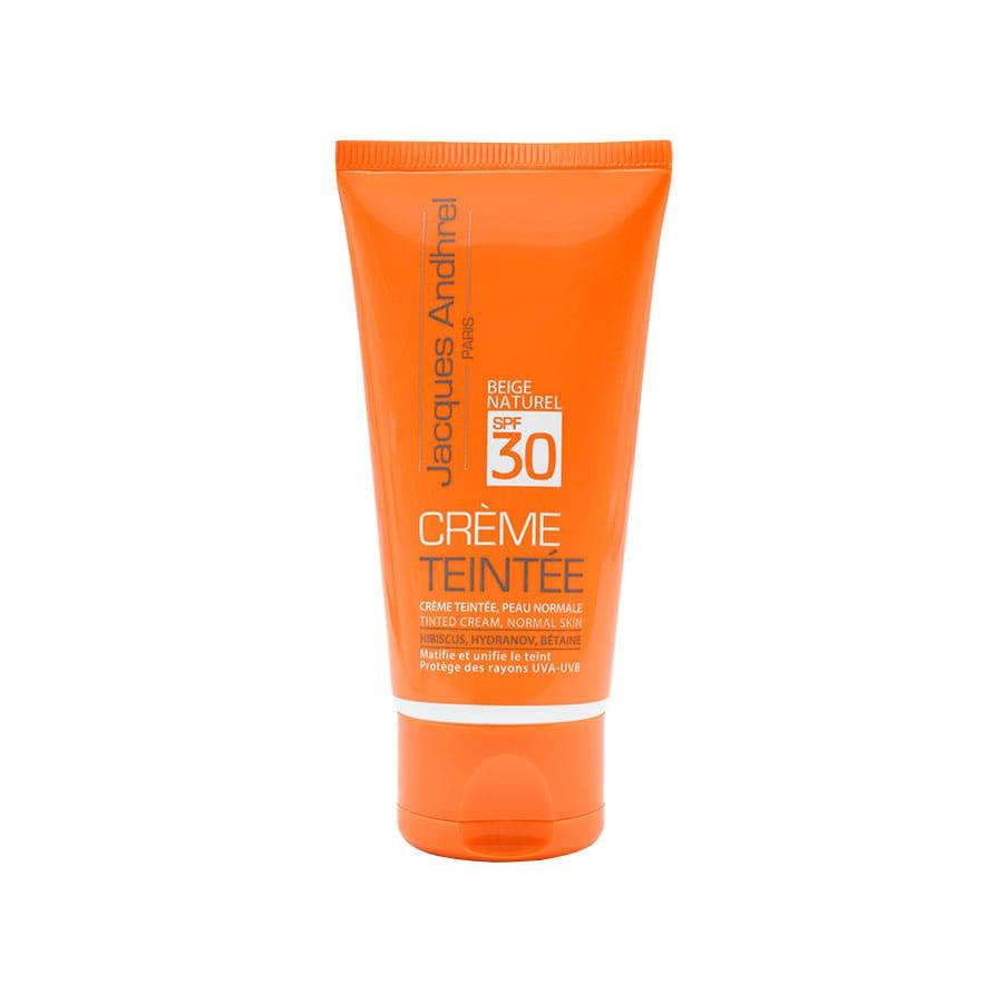 کرم ضد آفتاب رنگی SPF 30 ژاک آندرل پاریس مناسب پوست معمولی 50 میلی لیتر