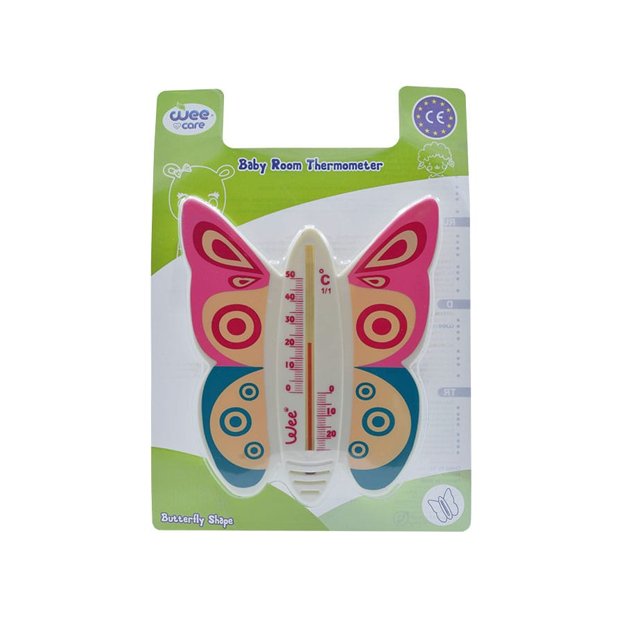 دماسنج اتاق کودک با طرح پروانه وی کر کد 121