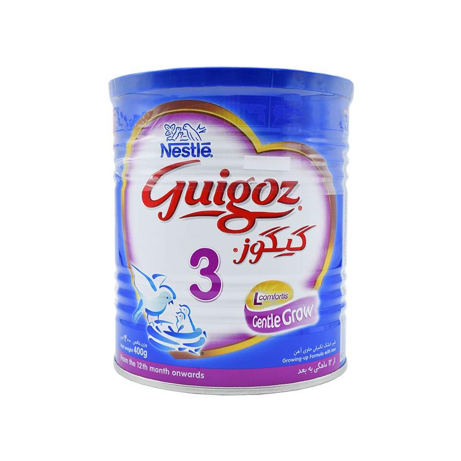 شیر خشک گیگوز 3 نستله 400 گرم
