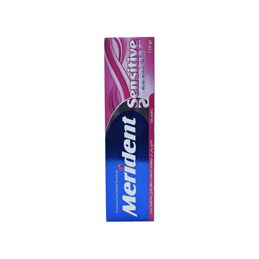 خمیر دندان برای دندان های حساس مدل SenSitive مریدنت 130 گرم