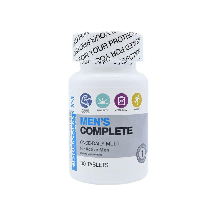 قرص منز کامپلیت مولتی ویتامین آقایان برانسون 30 عددی
