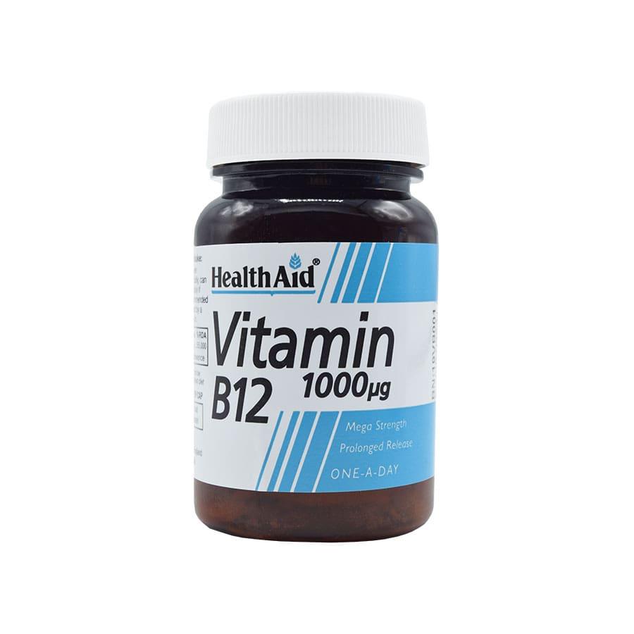 قرص ویتامین ب12 1000 میکروگرم هلث اید 50 عددی