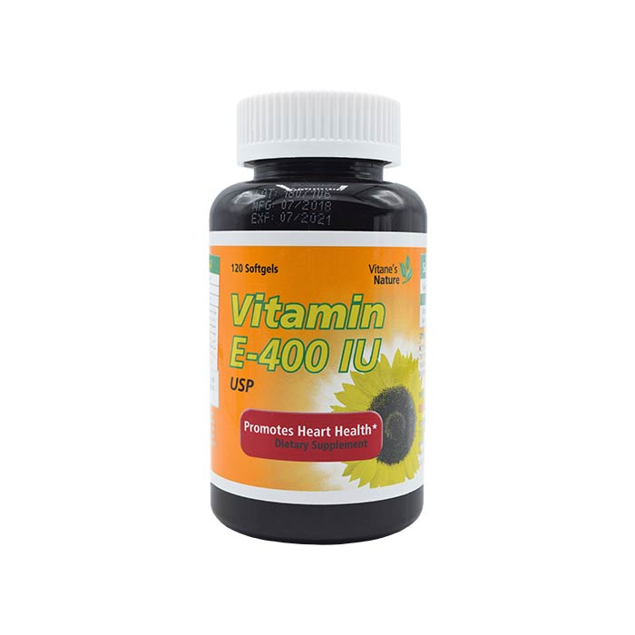 سافت ژل ویتامین ای 400 ویتان 120 عددی