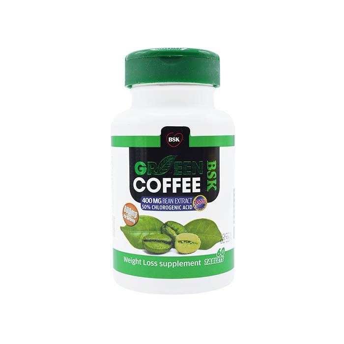 قرص قهوه سبز بی اس کی 60 عددی
