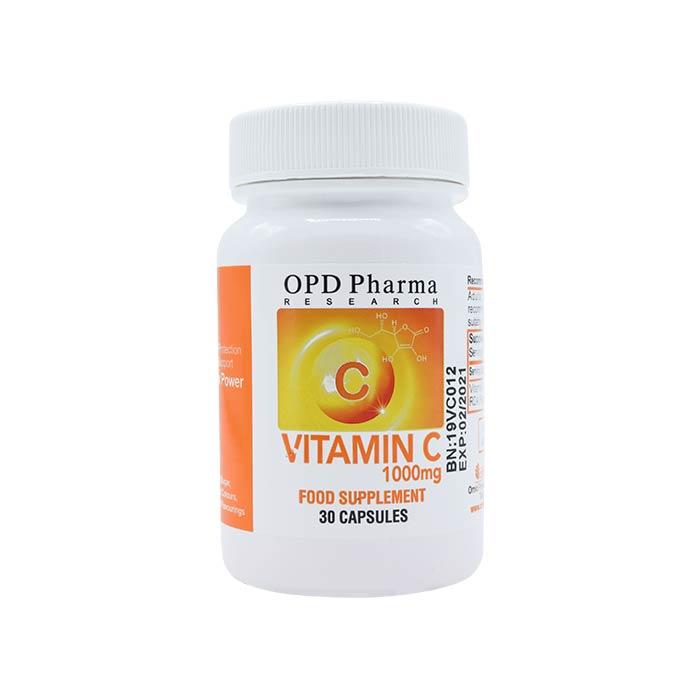 کپسول ویتامین ث 1000 میلی گرم ماکسیمم پاور امید پارسینا دماوند فارما ۳۰ عددی