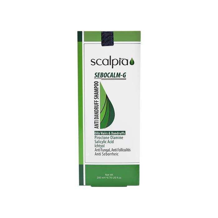 شامپو ضدشوره مناسب موهای چرب اسکالپیا 200 میلی لیتر
