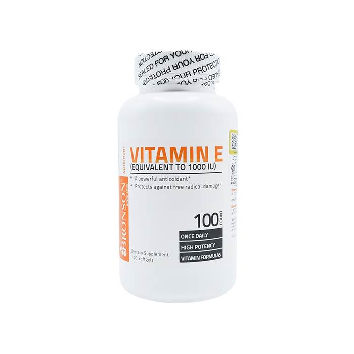 سافت ژل ویتامین ای برانسون 100 عددی