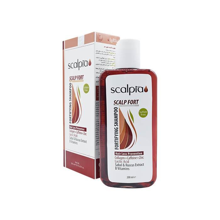 شامپو تقویت کننده موی سر اسکالپیا 200 میلی لیتر