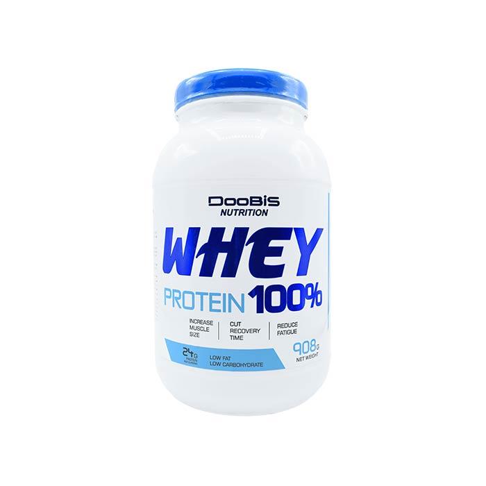 پودر وی پروتئین 100درصد دوبیس 908 گرم
