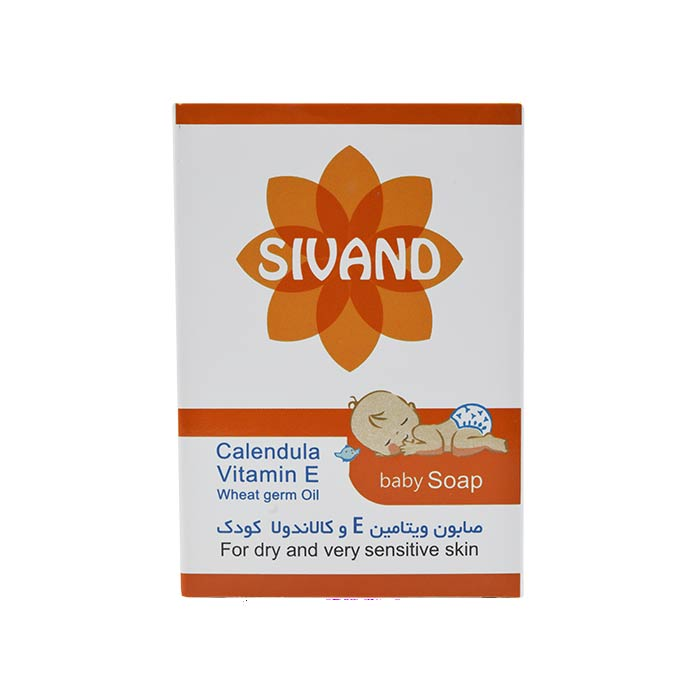 صابون ویتامین E و کالاندولا کودک سیوند 90 گرم