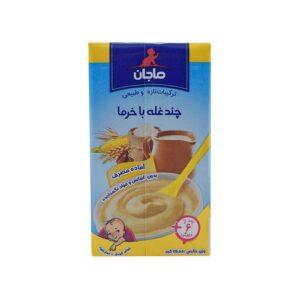 غذای کمکی کودک چندغله با خرما ماجان 135 گرم