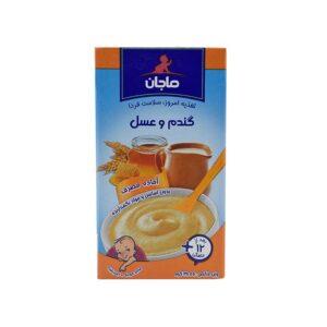 غذای کمکی کودک فرنی گندم و عسل ماجان 135 گرم