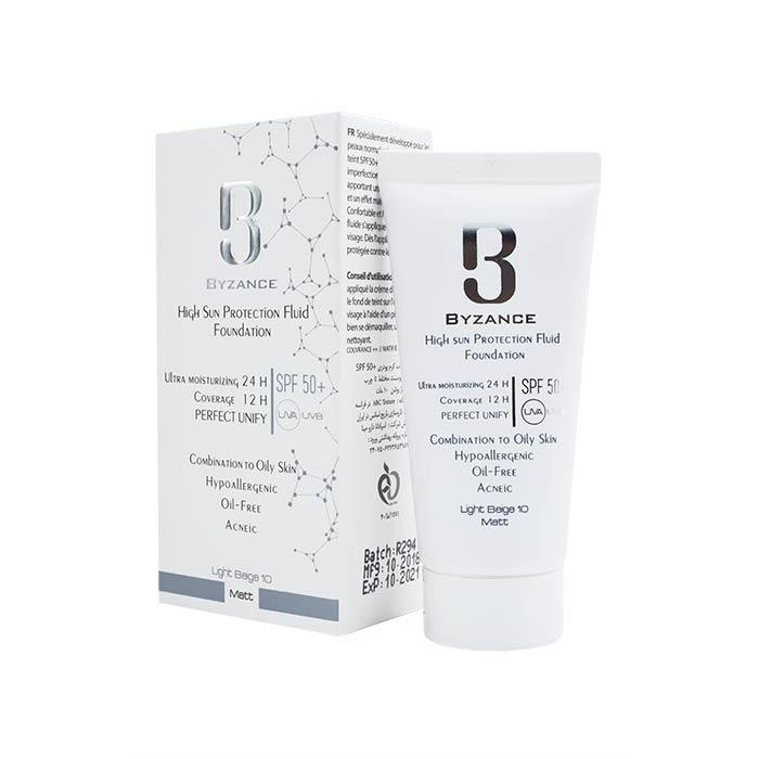 فلوئید ضد آفتاب +SPF50 بیزانس مناسب پوست های چرب 30 میلی لیترفلوئید ضد آفتاب +SPF50 بیزانس مناسب پوست های چرب 30 میلی لیتر