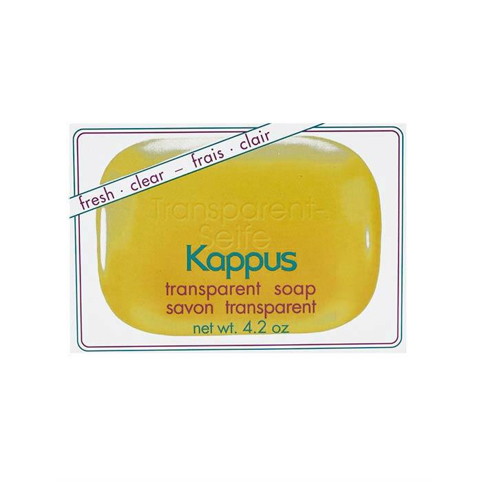 صابون گلیسیرین شفاف کاپوس 125 گرمصابون گلیسیرین شفاف کاپوس 125 گرم