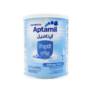 شیر خشک آپتامیل پپتی آلرژی کر 1 نوتریشیا 400 گرم