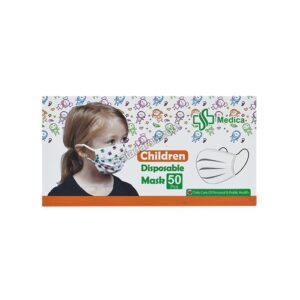 ماسک 3 لایه کودک مدیکا 50 عددی