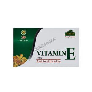 سافت ژل ویتامین ای 400 آلفا ویتامینز 30 عددی