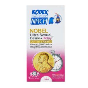 کاندوم تحریک کننده و تاخیری نوبل کدکس 12 عدد