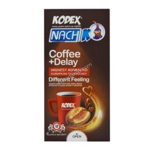 کاندوم تاخیری قهوه کدکس 12 عدد