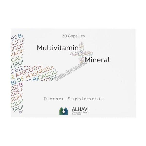 کپسول مولتی ویتامین مینرال الحاوی 30 عددی