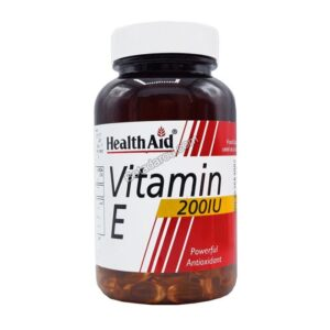 سافت ژل ویتامین ای 200 واحد هلث اید 60 عددی