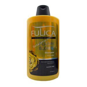 شامپو تثبیت کننده موهای بلوند فولیکا 400 میلی لیتر