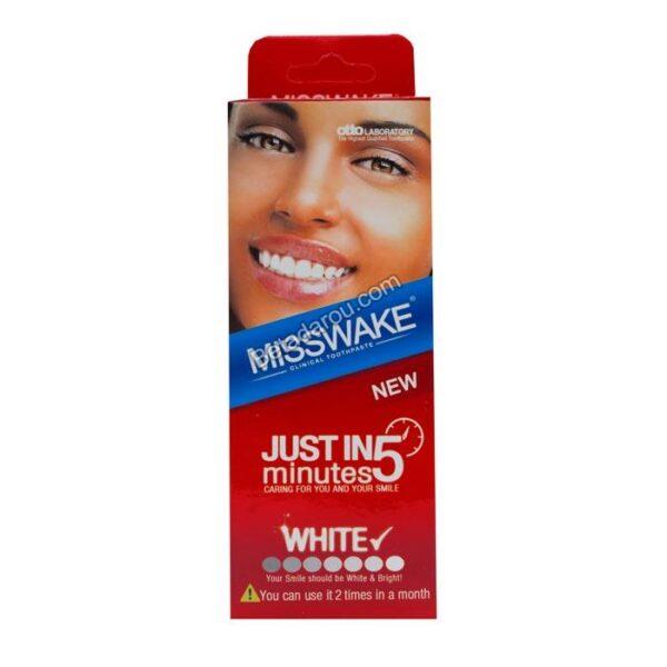 خمیر دندان سفید کننده 5 دقیقه ای میسویک 50 میلی لیتر