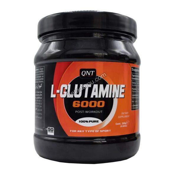 پودر ال گلوتامین 6000 کیو ان تی 300 گرم