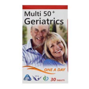 قرص مولتی ویتامین بالای 50 سال سیمرغ دارو عطار 100 عددی
