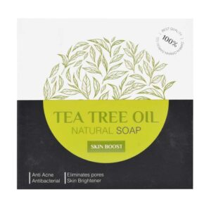 صابون روغن درخت چای اسپیرولینا 100 گرم