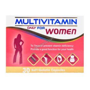 کپسول مولتی ویتامین زنان دانا 30 عددی
