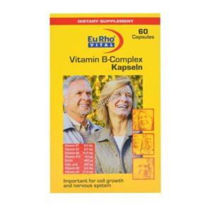 کپسول ویتامین ب کمپلکس یوروویتال 60 عدد