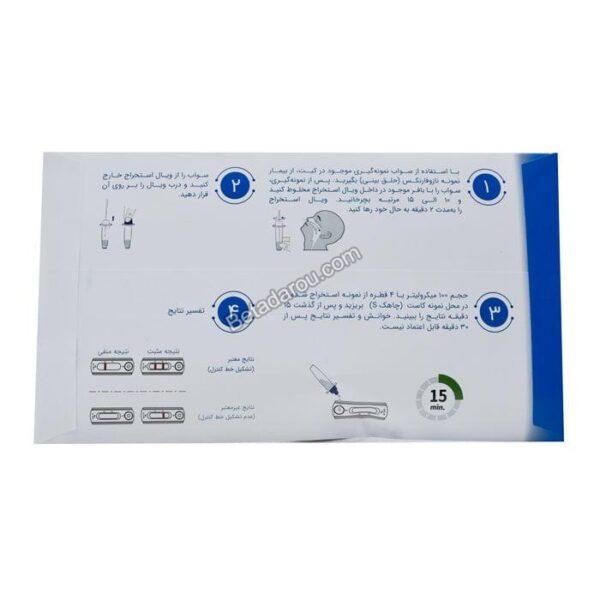 تست تشخیص سریع آنتی ژن کرونا